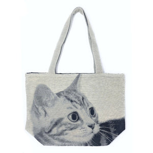 Cat Tote Bag - Cat Look