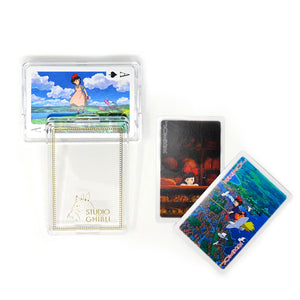 Studio Ghibli - Kiki's Delivery Service - Playing Cards with Original Case