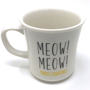 Cat Mug and Hand Rest Gift Set with Message Card, Gift Set for Cat Lovers (KoKo)