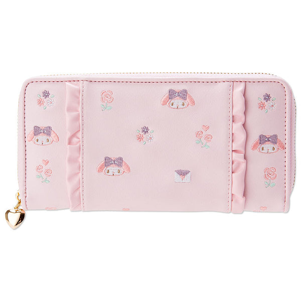 Sanrio Japan My Melody Long Wallet with Frill