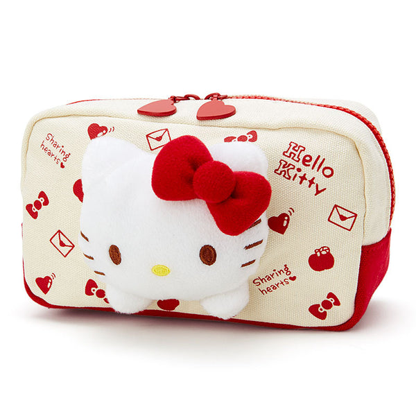Sanrio Japan Original Hello Kitty Pouch Puriteiru