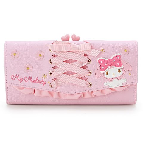 Sanrio Japan My Melody Long Wallet with Purse Perth and Frill