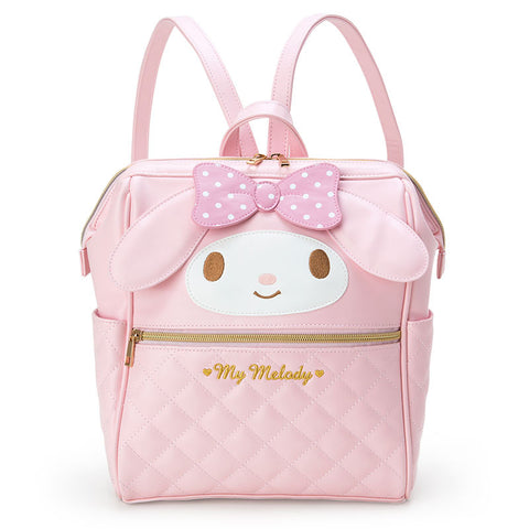 Sanrio Japan Original My Melody Wire-cored Backpack (Medium Size)