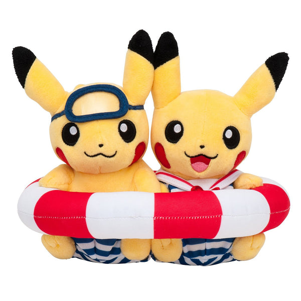 Pokemon Original Pikachu Japan Monthly Pair Doll (July 2016 Limited Edition)