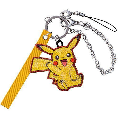 Pokemon Center Original Pikachu XY Spangle Charm Key chain - Route19 Store