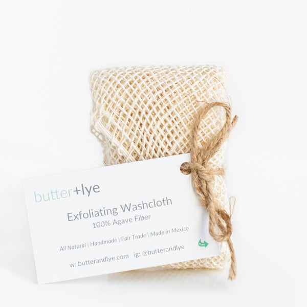 Exfoliating Agave Fiber Wash Cloth