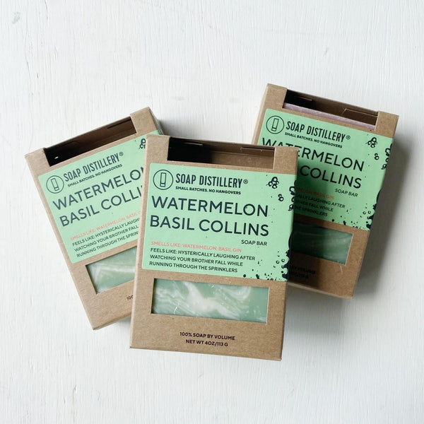 Watermelon Basil Collins Soap