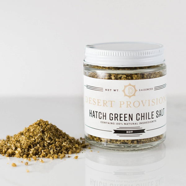 Hatch Green Chile Salt jar
