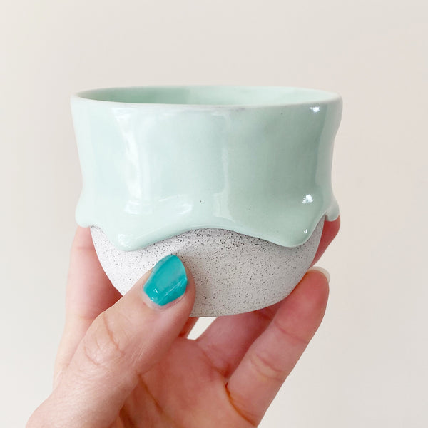 Drippy Oolong Tea Cup in Mint