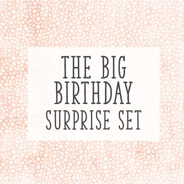 Birthday Special! The Big Birthday Set!