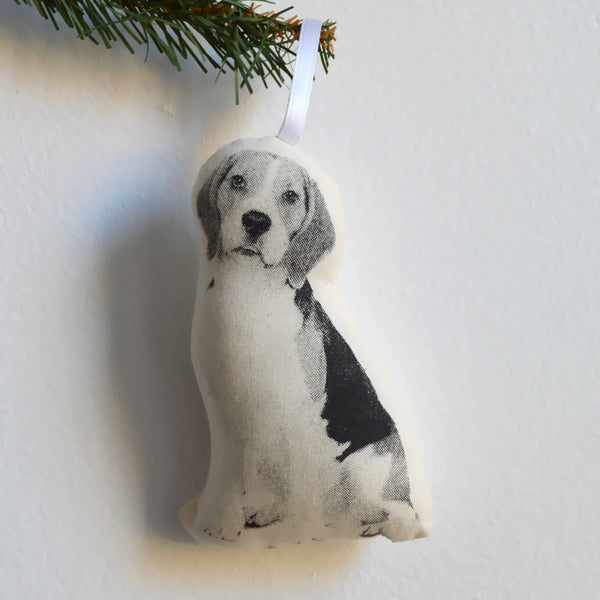 Beagle Plush Ornament