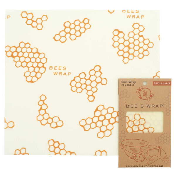 Single Beeswax Wrap - Size Large
