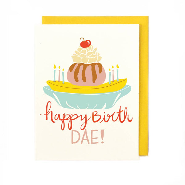 birth dae greeting card