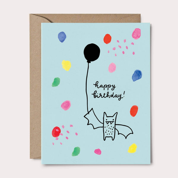 Birthday Bat Card