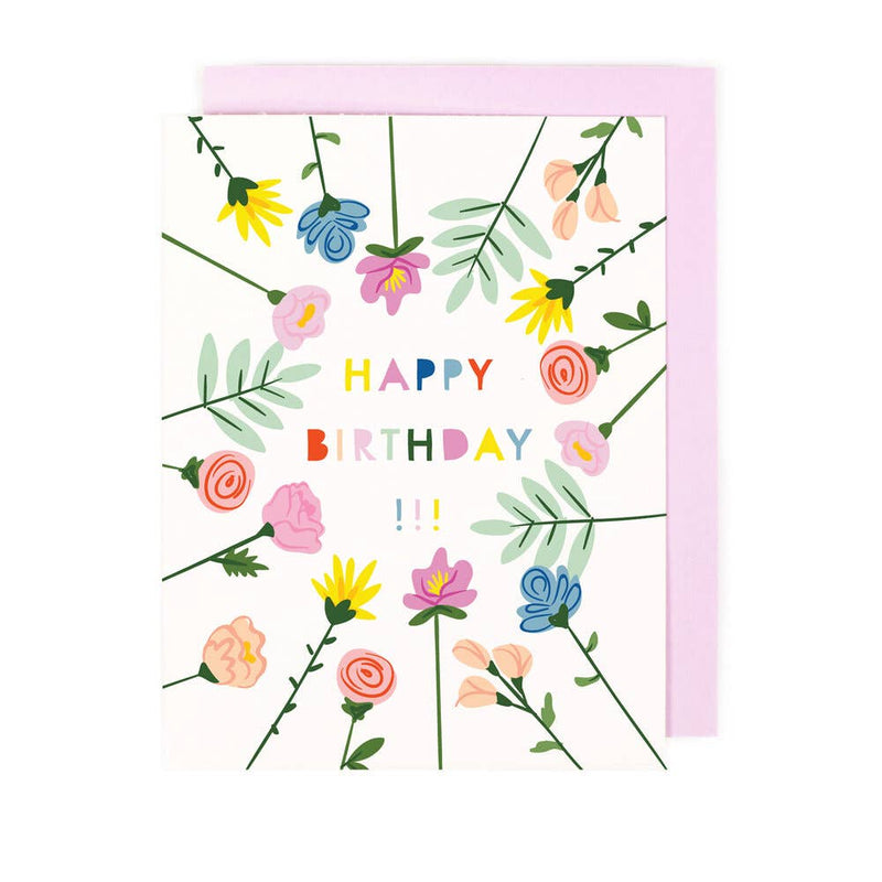 Blooming Birthday greeting Card