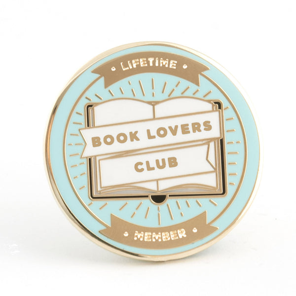 Book Lovers Club Pin