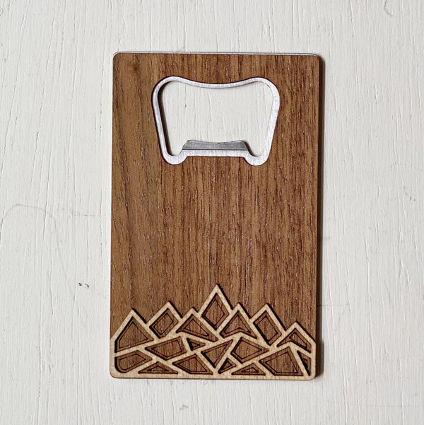 Modern Mountains Bottle Opener