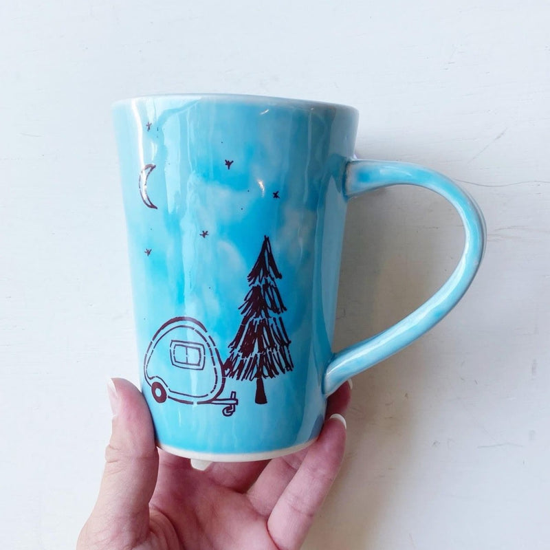 Camper Mug light blue