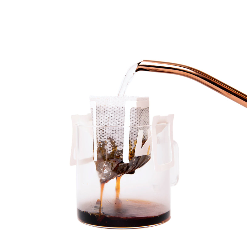 Classic Coffee Pour Over Kit pouring
