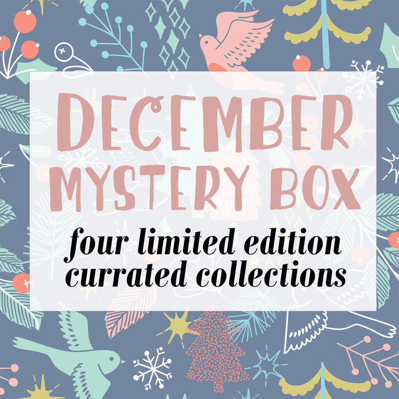 December holiday mystery gift box
