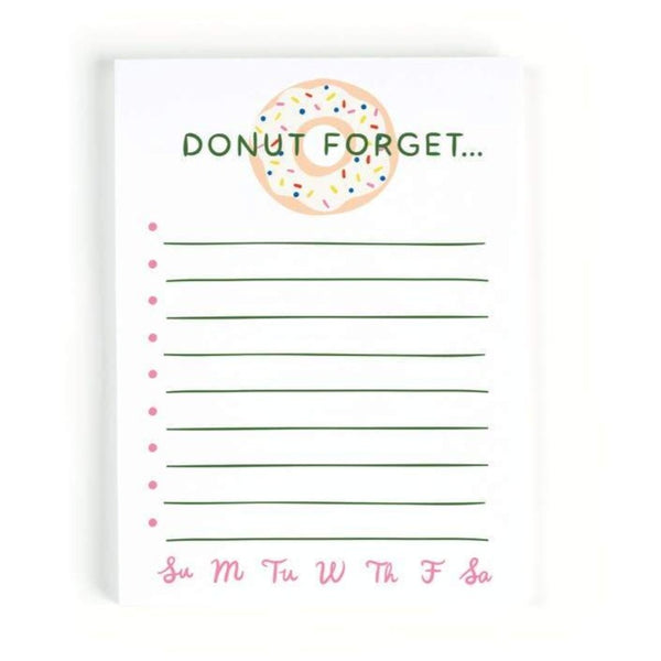 Donut Forget Notepad