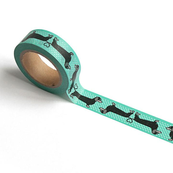 Dauchund pattern washi tape