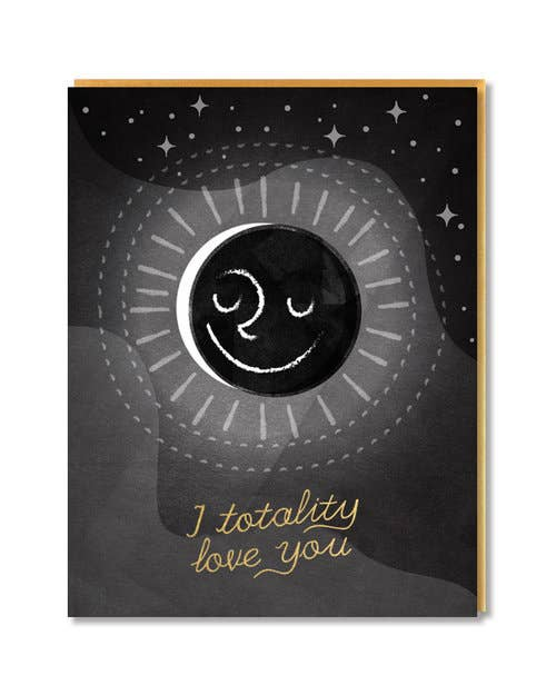 Eclipse Valentine's Day Card