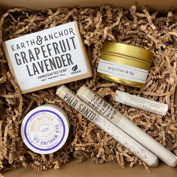 Grapefruit and Lavender Gift Set