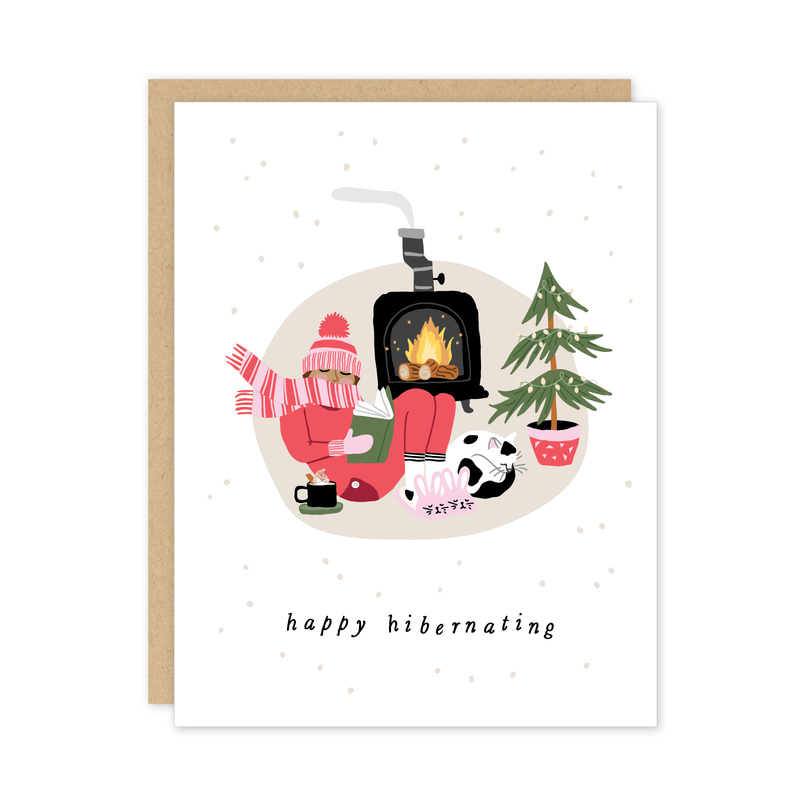 Happy Hibernating Card