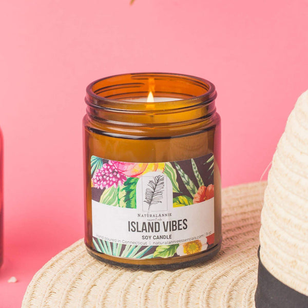 Island Vibes 9 oz Soy Candle