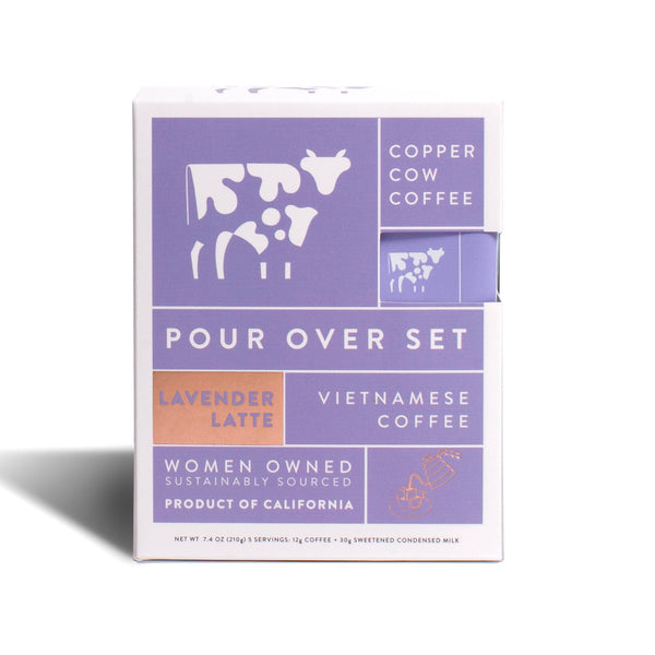 Lavender Latte Pour Over Coffee Kit