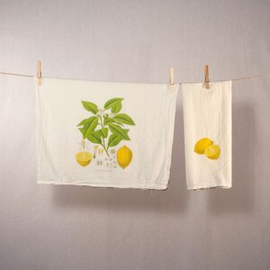 Lemons Tea Towel Set