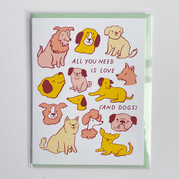 All You Need is Love and Dogs Card