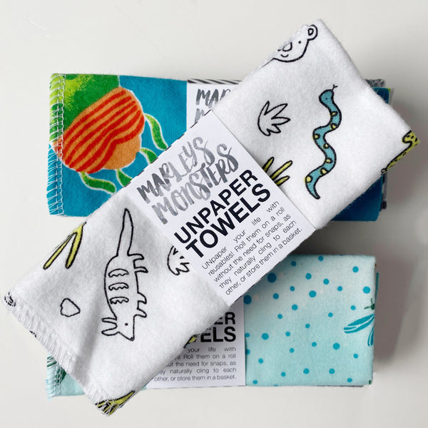 Eco-Friendly Unpaper Towels - Pattern Mix