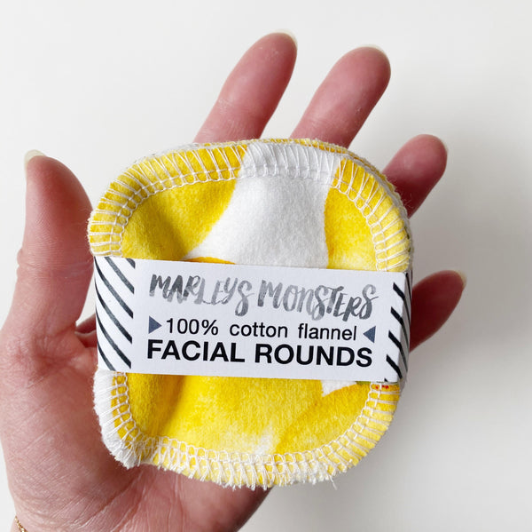 Eco-Friendly Facial Rounds - Lemons