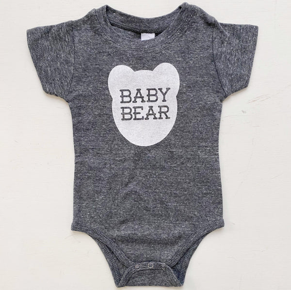 Baby bear one piece romper