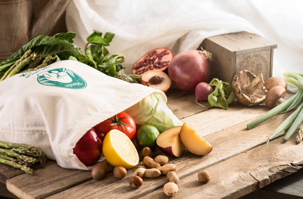 Organic Produce Bag Set of 3