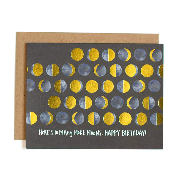 Many Moons Birthday Card