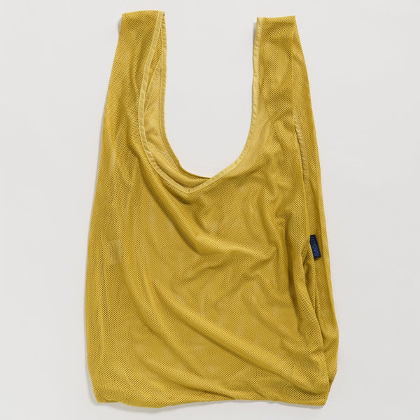 Mesh Yellow Market Tote Bag