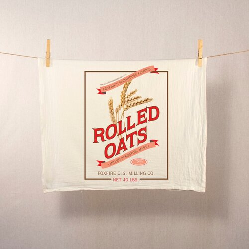 Rolled Oats Tea Towel