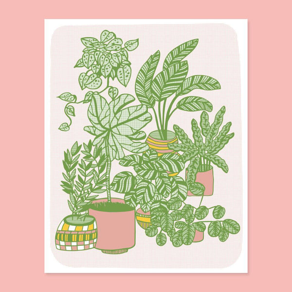 Plants Screenprint