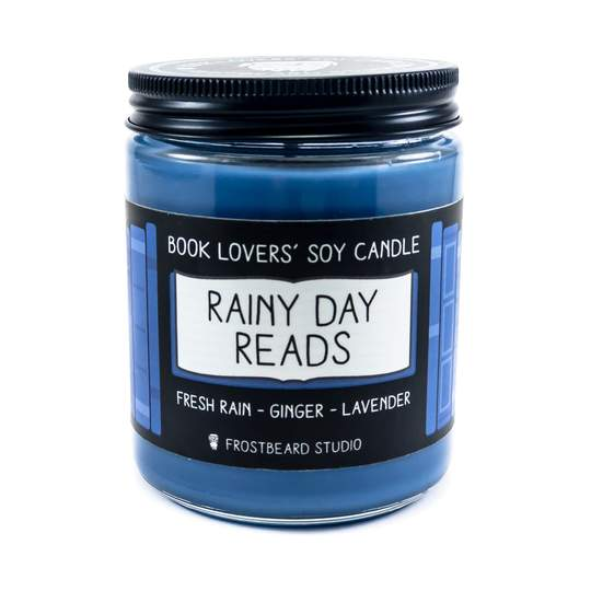 Rainy Day Reads Candle