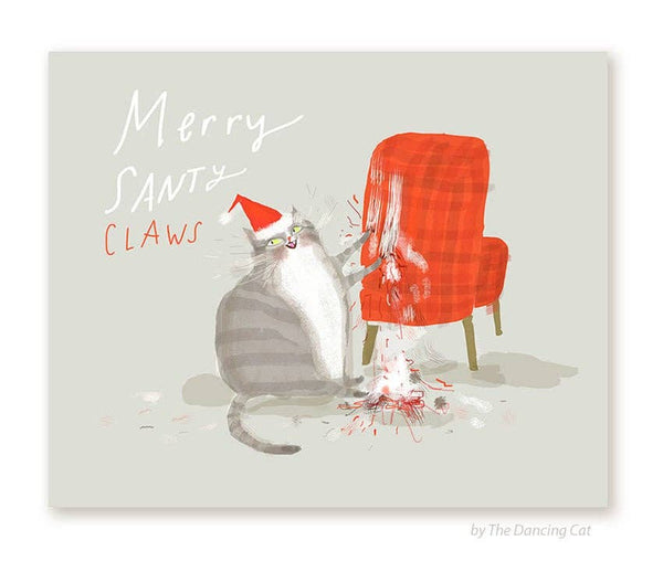Santy Claws Card