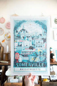 Somerville Art Print