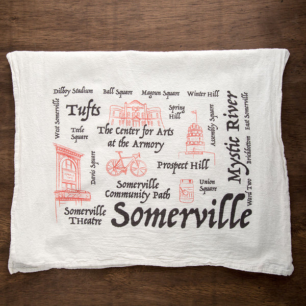 Somerville Tea Towel
