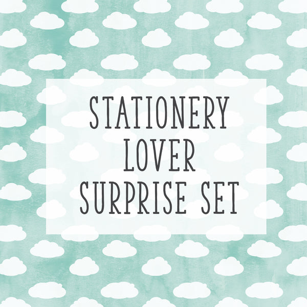 Birthday Special! Stationery Lover Set