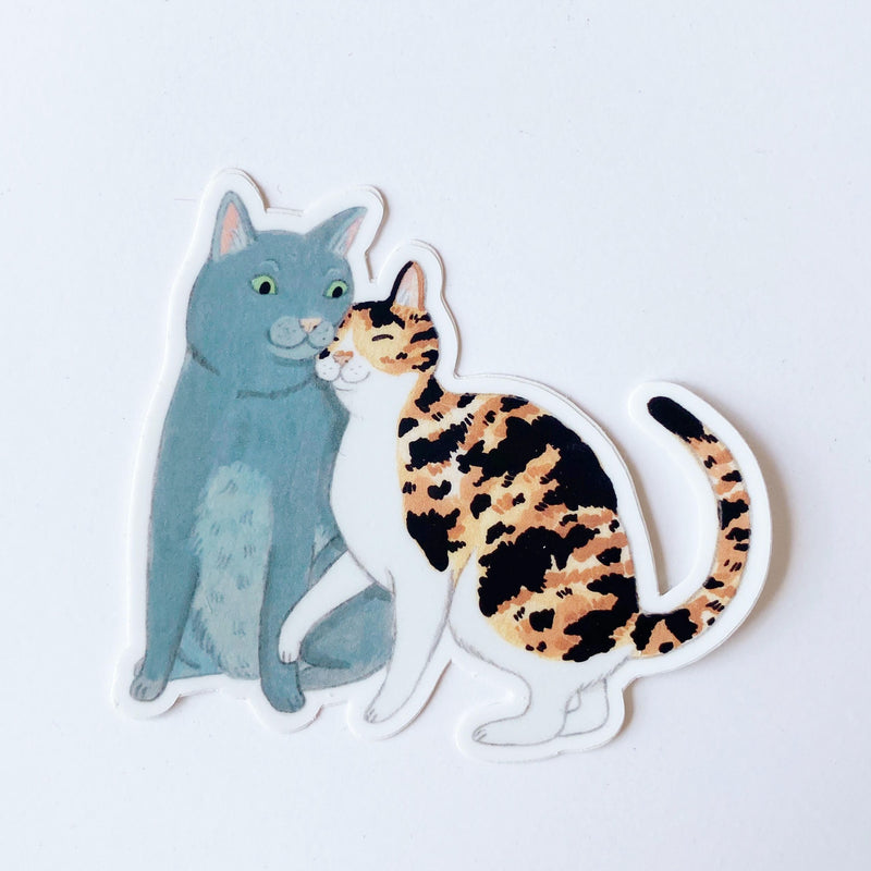 Cat Duo Sticker