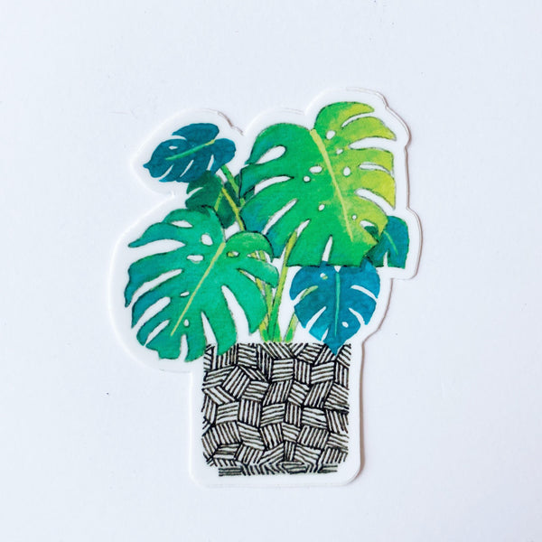 Monstera Vinyl Sticker