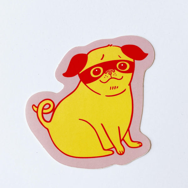 Yellow Dog Sticker
