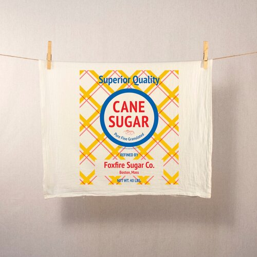 Cane Sugar Tea Towel